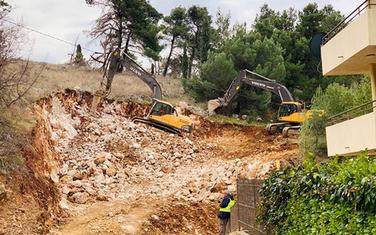 Radovi na brdu Gorica