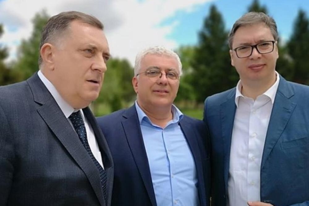 Dodik, Mandić i Vučić