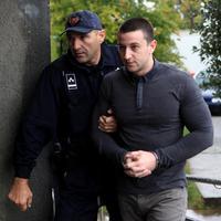 Čogurić ispred suda u Danilovgradu