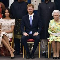 Megan Markl, princ Hari i kraljica Elizabeta II