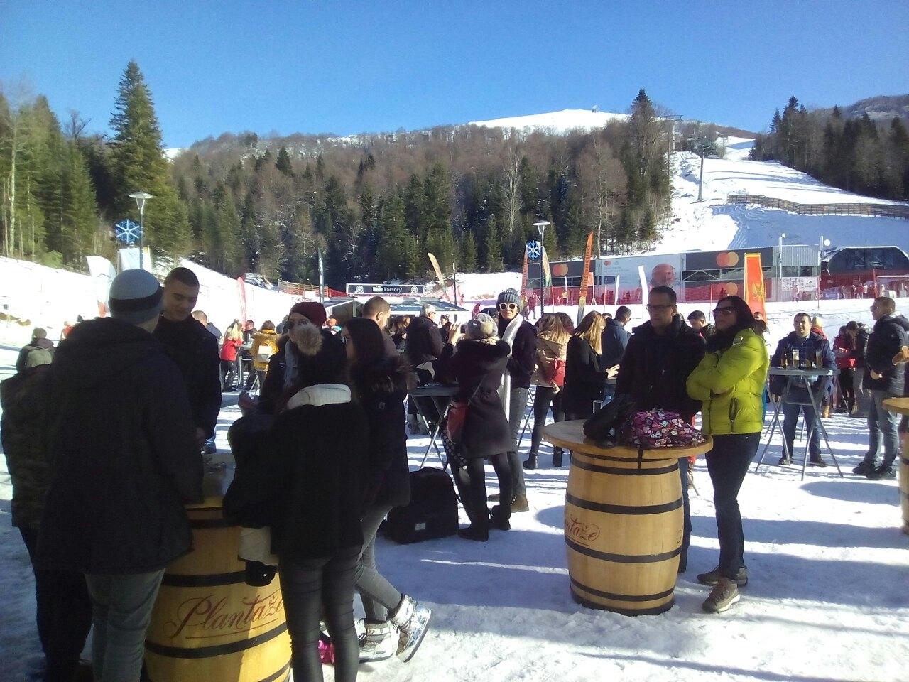 Detalj sa otvaranja sezona na Skijalištu Kolašin 1600
