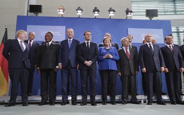 Učesnici jučerašnjeg samita o Libiji u Berlinu