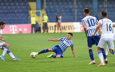 Sa utakmice Budućnost - Sutjeska