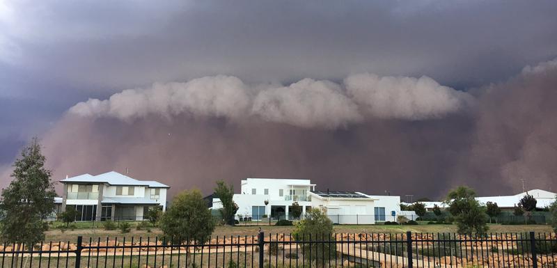 Pješčana oluja u Australiji