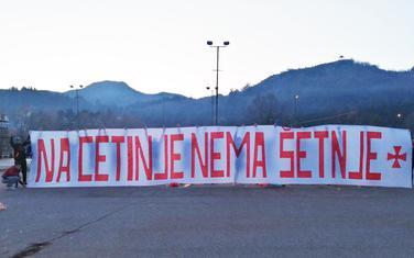 Transparent na Cetinju