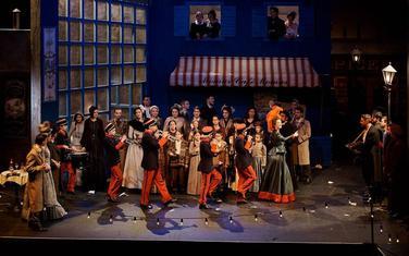 Angažovan CSO, mješoviti i dječiji hor: Scena iz opere