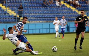 Igor Ivanović na prvenstvenom meču sa Komom