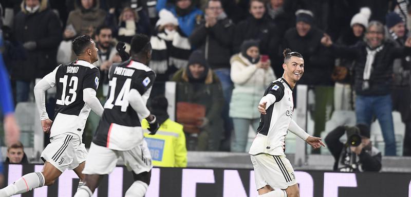 Ronaldo slavi gol