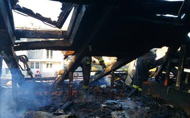 Požar u kući Tešovića