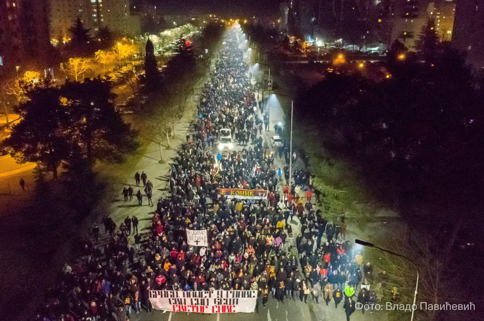 Podgorica, litija
