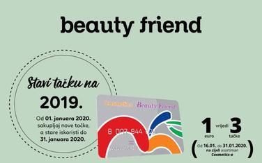 Cosmetics Beauty Friend kartica