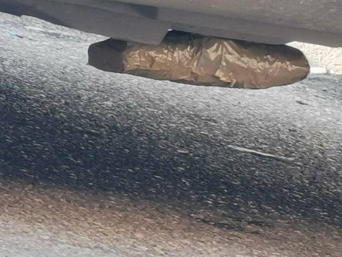 Eksploziv ispod vozila