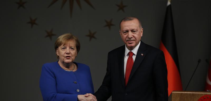 Merkel i Erdogan