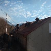 Sa akcije zamjene krova