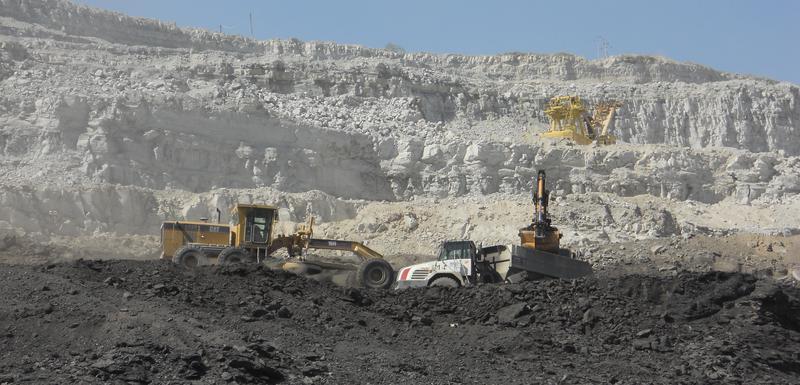 Površinski kop Potrlica Rudnika uglja (ilustracija)
