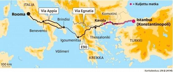 Trasa rimskog puta