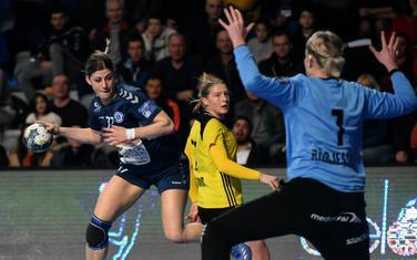Majda Mehmedović nije igrala u drugom poluvremenu zbog lakše povrede leđa