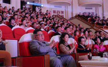Snimljena na koncertu u Pjongjangu