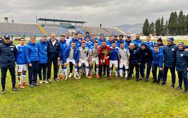 Fudbaleri i stručni štab Sutjeske