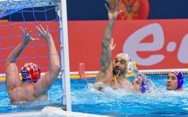 Sa utakmice Crna Gora - Hrvatska