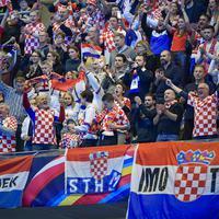 Navijači Hrvatske u Stokholmu
