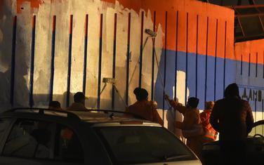 Trobojka prekrečena nakon sukoba građana i policije