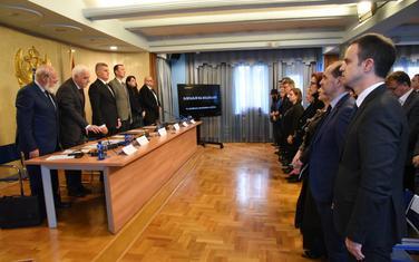 Sa konferencije povodom obilježavanja Međunarodnog dana sjećanja na žrtve Holokausta