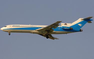 Avion Arijana erlajnsa (ilustracija)