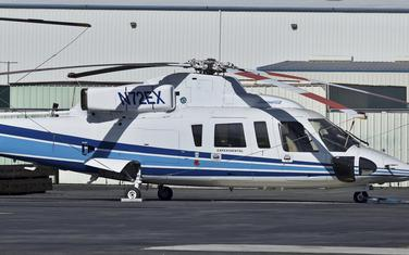 Helikopter Sikorsky S-76B kakav je koristio Brajant