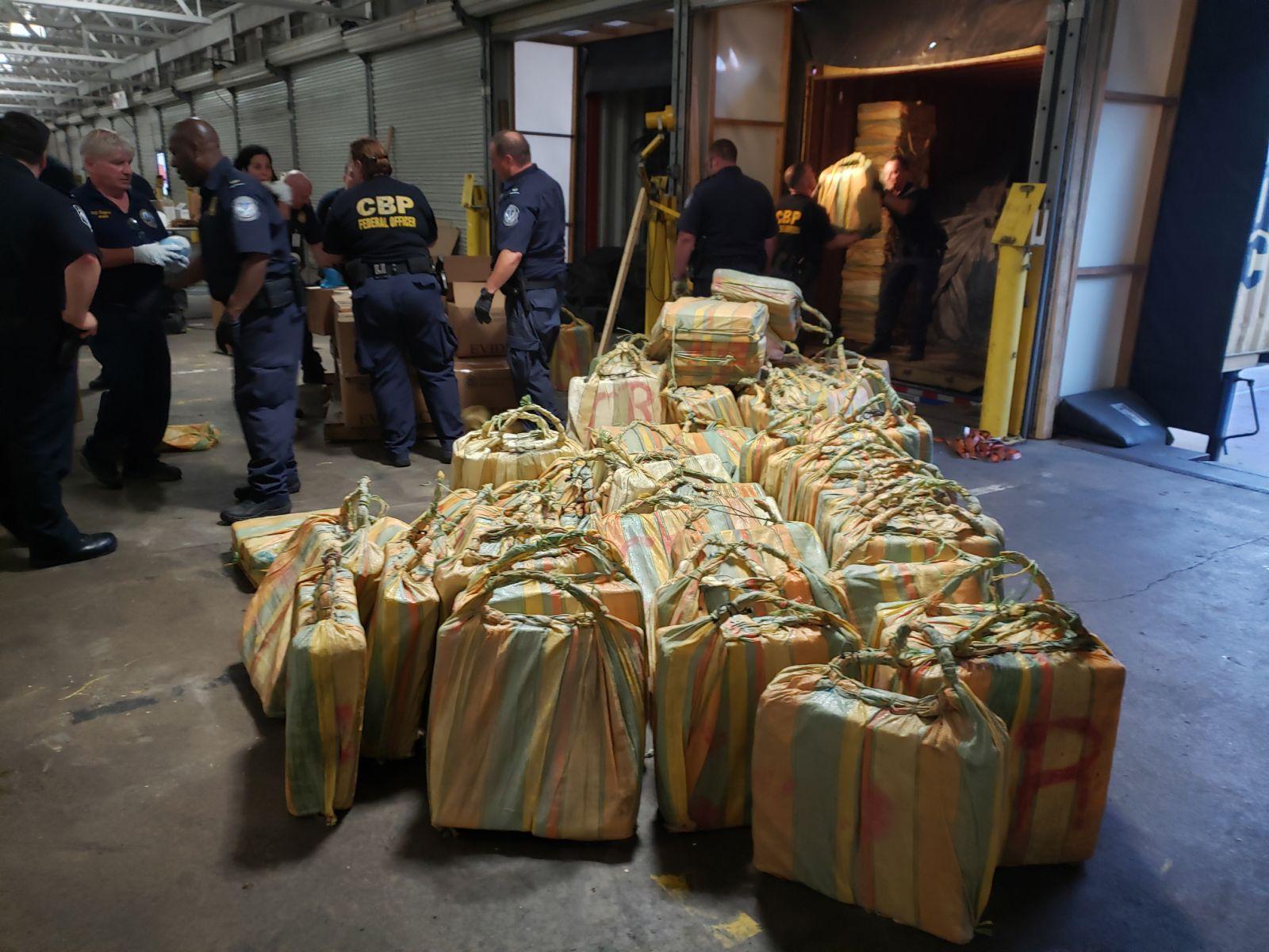 Zapljena kokaina na brodu u Filadelfiji