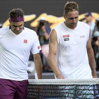 Federer i Sandrgen