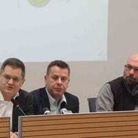 Jeremić, Georgiev i Milićević na tribini