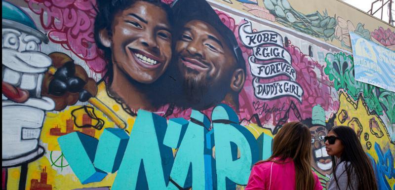 Điđi i Kobi oslikani su na muralu u Los Anđelesu