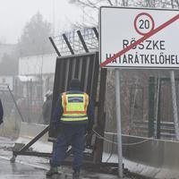 Detalj sa mađarsko-srpske granice