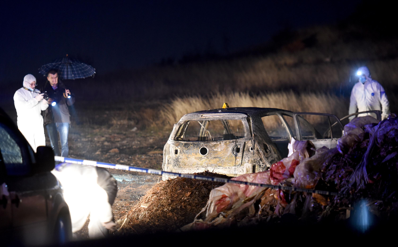 Pronađen zapaljeni golf na Kakaritskoj