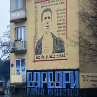 Jedan od grafita u glavnom gradu