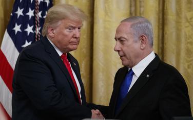 Tramp i Netanjahu