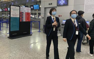 Detalj sa aerodroma u Šangaju
