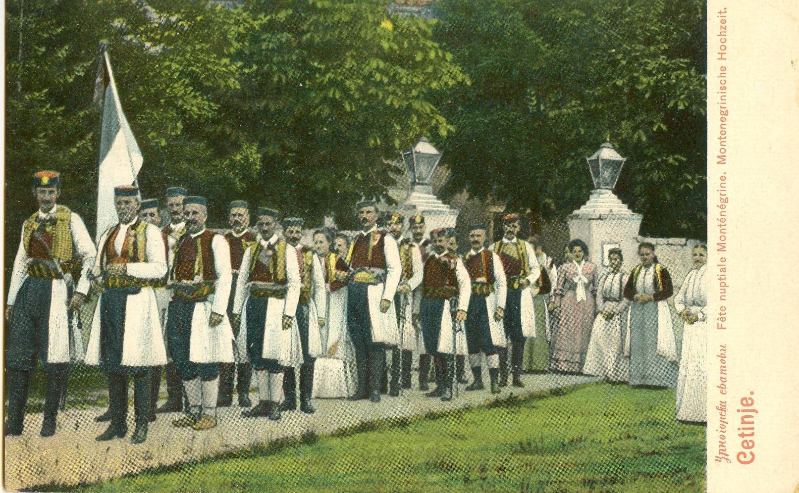 Trobojka na Cetinju