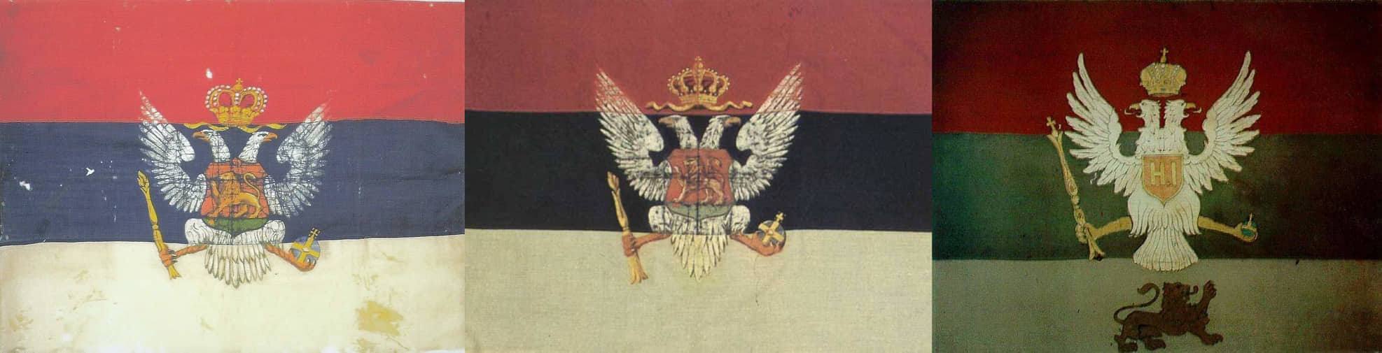 Zastave Knjaževine i Kraljevine Crne Gore