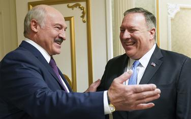 Pompeo u Minsku