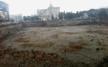 Mjesto gdje je bila planirana gradnja hotela