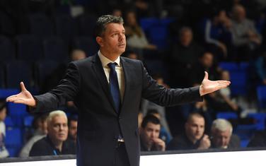 Petar Mijović na utakmici sa Igokeom