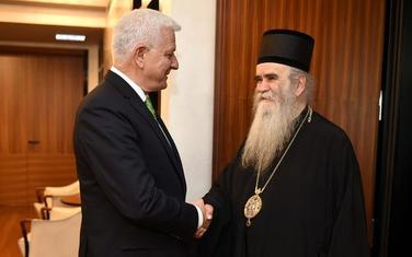 Amfilohije i Marković sastanak
