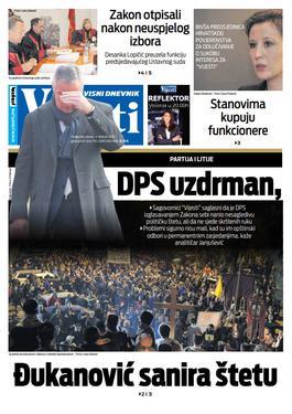 """Naslovna strana """"Vijesti"""" za 4.2.2020."""