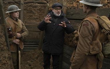"""Sem Mendez na snimanju filma """"1917."""""""