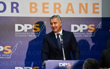 Đukanović u Beranama