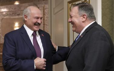 Aleksandar Lukašenko i Majk Pompeo