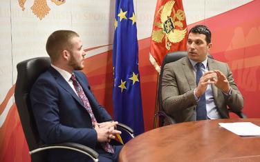 Mario Hodžić i Nikola Janović