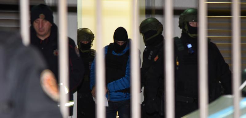 Specijalna policija izvodi Markovića iz Specijalnog tužilaštva